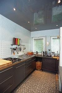 Küche neu mit Spanndecke