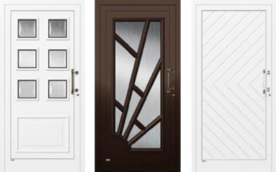 Haustüren braun  Haustüren: einfach schön