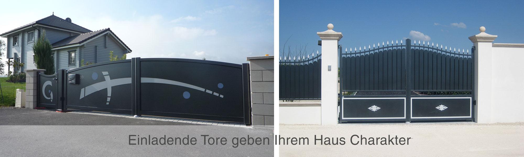 Hoftore, Zäune und Toranlagen von Wulf und Berger in Büttelborn, Groß-Gerau, Darmstadt