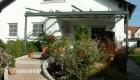Schattiges Terrassendach