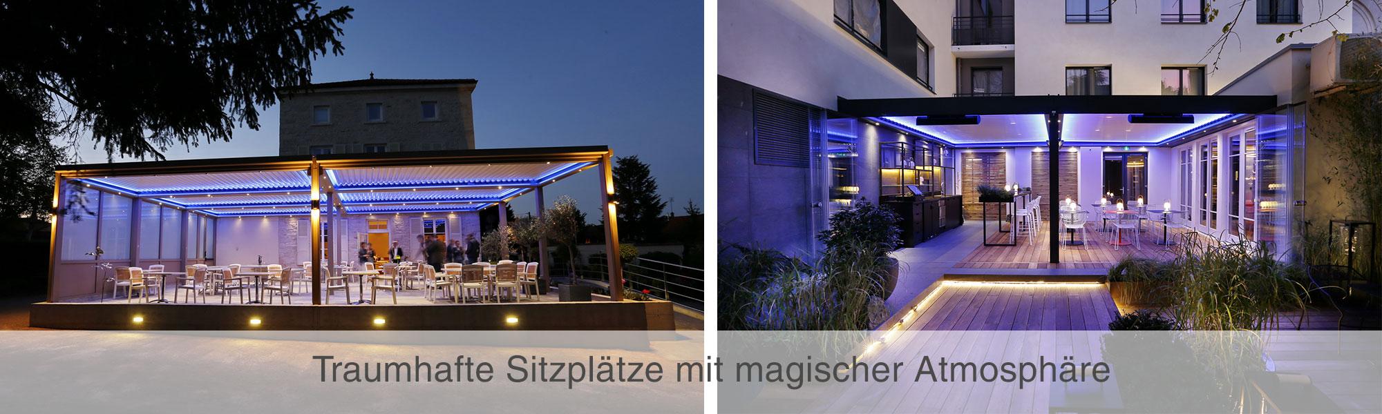 Pergolas, beschattete Sitzplätze und traumhafte Terrassen von Biossun über Wulf und Berger, Büttelborn