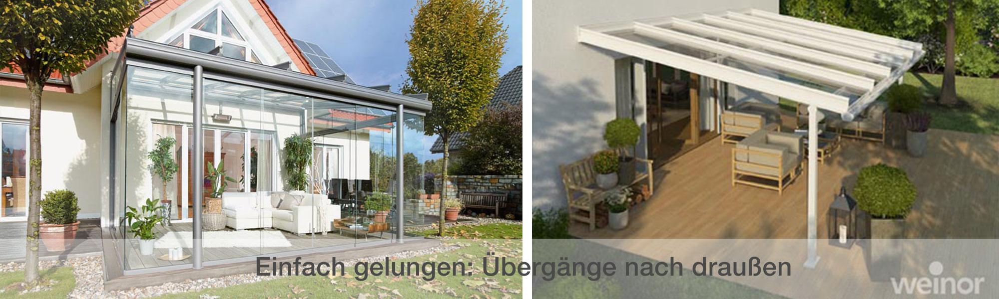 Mit Top-Qualität von weinor Terrassen mit Stil überdachen!