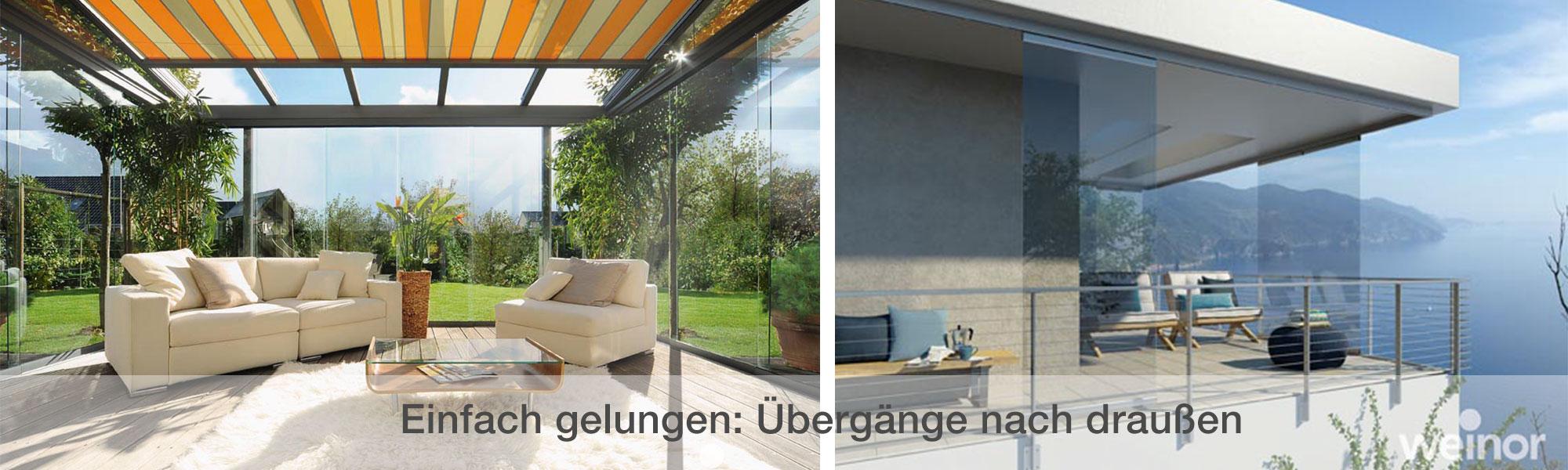 Weinor Markisen in vielen Farben und Ausführungen bei Wulf & Berger